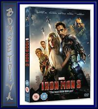 IRON MAN 3 - Robert Downey Jr. **BRAND NEW DVD **