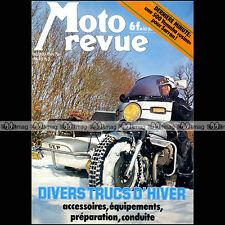 MOTO REVUE N°2399 YAMAHA YZR 500 CHRISTIAN SARRON PARIS-DAKAR SIDE-CAR GEP 1979