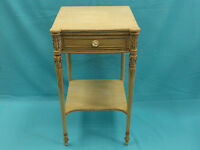 RARE EARLY MID CENTURY WIDDICOMB FURNITURE CO GRAND RAPIDS NIGHTSTAND TABLE