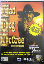 Mad Dog McCree DVD (utilise à distance) / Xbox / PS2-NEUF