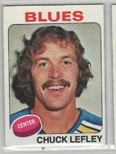 1975-76 Topps Chuck Lefley Card