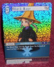 FINAL FANTASY  TCG OPUS 2 - BLACK MAGE  FOIL CARD 2-033C - COMMON