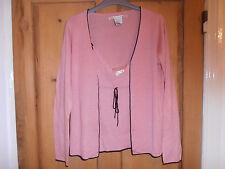 Splendido Max Studio rosa Twin Set. MISTO CACHEMIRE, TAGLIA MEDIA. indossati difficilmente