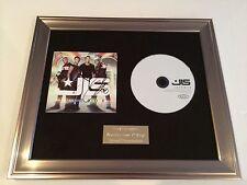 SIGNED/AUTOGRAPHED JLS - JUKEBOX FRAMED CD PRESENTATION. ASTON MARVIN JB ORITSE