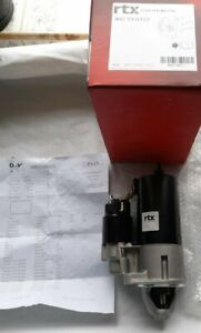FOR FORD ORION FIESTA ESCORT RTX STARTER MOTOR BRAND NEW *INCLUDES TEST PAPER*