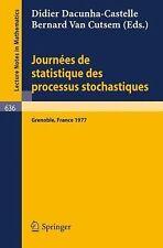 Journees de statistique des älteren stochastiques: Proceedings, Gren-exlibrary