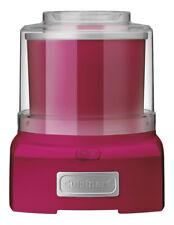 NEW Cuisinart Ice Cream Maker: Candy Apple Pink: ICE-21CAXA