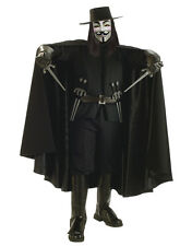 V For Vendetta Costume Accessory, Mens Cape Style 2