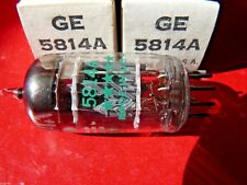 5814A GE 3 Mica 5 Star Green Print Made in USA New Old Stock Valve Tube  MD