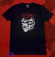 New Slayer Head Mens Black Vintage Classic T-Shirt