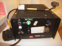 BRITISH ARMY RACAL COUGAR  RADIO BASE STATION MAINS POWER SUPPLY/ CHARGER +CABLE