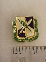 Authentic US Army 450th Civil Affairs Command Unit DI DUI Crest Insignia D-22