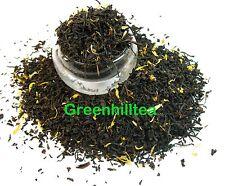 Monks blend natural flavored black tea loose leaf tea 1  LB