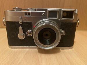 Leica M3 mit Elmar f=5cm 1:3.5