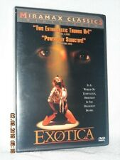 Exotica (DVD, 2003) Bruce Greenwood Mia Kirshner Don McKellar Elias Koteas