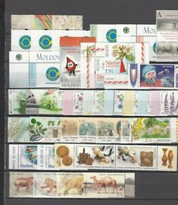 Moldova, 2015/16 Lot With Brands And Blocks, (32320)