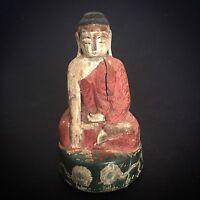 Buddha  Asia Myanmar Thailand Laos Holz Burma China 中国西藏 Art佛