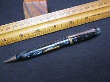 VINTAGE FOUNTAIN PEN-MECHANICAL PENCIL/CRUSADER-WATERMAN'S?/BEAUTIFUL PEARLY GRE