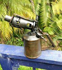 Vintage Blow Torch Kerosene PRIMUS SWEDEN old tool B A HJORTH & Co No 632