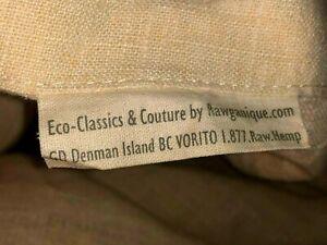 Rawganique Organic French 100% Linen Hemp  King Duvet Covers