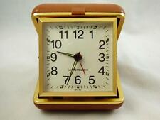 Vintage WESTCLOX Travel/Alarm Fold-up Clock-Runs Great