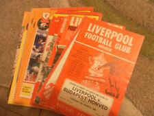 More details for liverpool home programmes from european competions  1964 - 84 - choose from list