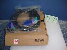 D-Link DKVM-CB5 - keyboard / video / mouse /KVM/ cable - 15 ft