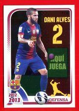 FC BARCELONA 2012-2013 Panini - Figurina-Sticker n. 45 - DANI ALVES -New