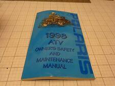OEM Polaris Owners Manual 1998   98     ATV Book    9914659