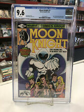 MOON KNIGHT #1 (Marvel Comics, 1980) CGC Graded 9.6 ~ WHITE Pages