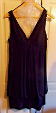Eliza J. Missy (New York) Black, sleeveless, cocktail dress. size 14.