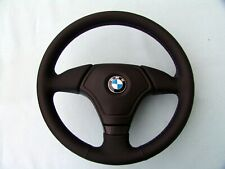 BMW AIRBAG EURO SPORTS STEERING WHEEL, E36 M3, NEW MONTANA LEATHER, 3 COLOR STIT