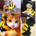 FD3881 Pet Dog Cat Bumble Bee Dress Up Costume Apparel Doggie Hoodies Coats♫