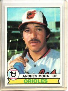 1979 TOPPS ANDRES MORA (NM OR BETTER)