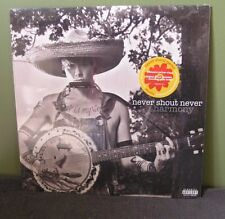 "Never Shout Never ""Harmony"" LP OOP Sealed Panic at the Disco Cab Academy Is"