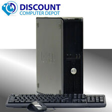 Dell Desktop Computer Core 2 Duo 3.0Ghz 4GB 1TB DVD WIFI PC Windows 10 64bit