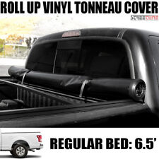 Lock & Roll Up Soft Tonneau Cover 15-18 F150 Standard/Extended/Crew Cab 6.5' Bed