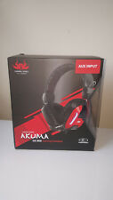 PS4 GAMING SERIES AKUMA GX800 HEADSET Wired Stereo Headset *