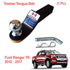 Towbar Tongue Tow Ball Mount Hitch Hamer Black For Ford Ranger T6 2012 - 2017