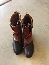 Women VTG LL Bean Maine Hunting Shoe Boots Thinsulate Gore-Tex Waterproof Sz 8 M