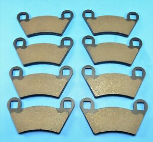 NEW Fit  Polaris Ranger 500 2x4 4x4 6x6 2004-2005 Front Rear Brake PADS