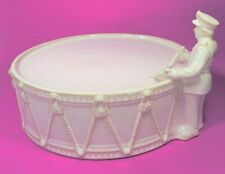 POTTERY BARN 12 DAYS OF CHRISTMAS DAY 11 DRUMMER CAKE STAND / PLATE