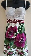 Free People Women's Multicolor floral Print Spaghetti Strap Dress Size 10