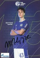 MATTHEW HOPPE - FC SCHALKE 04 - 2020/2021. Originale Unterschrift!