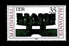 GERMANY - GERMANIA - DDR - 1980 - Monumenti internazionali del ricordo. Majdanek