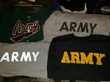4 Different Us Army Training Pt Shirts Large