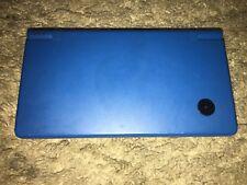 Nintendo DSi Metallic Blue Handheld System, NO CHARGER