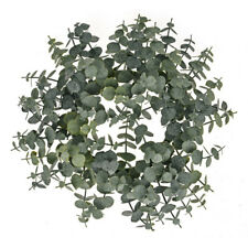 Spiral Artificial Eucalyptus Winter Wreath 30cm/12 Inches
