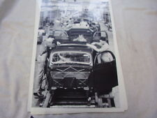 1936  FORD  ASSEMBLY LINE     12 X 18 LARGE PICTURE   PHOTO