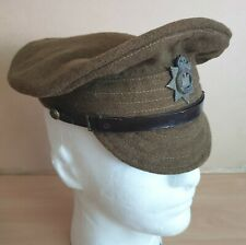 More details for world war-i british army soft service cap for the devonshire regiment dated 1917